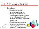 3 employee training