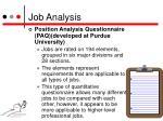 job analysis4