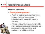 recruiting sources7