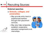recruiting sources8