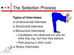 the selection process2