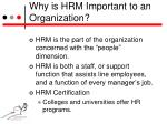 why is hrm important to an organization2