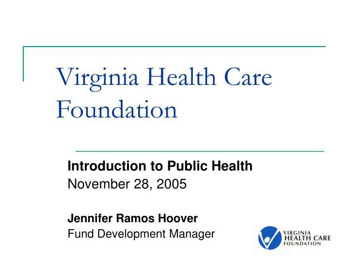 virginia health care foundation n.
