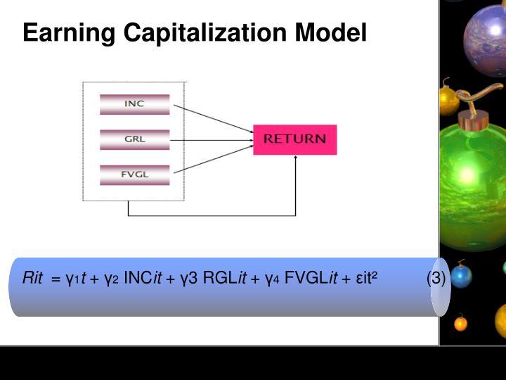 Earning Capitalization Model