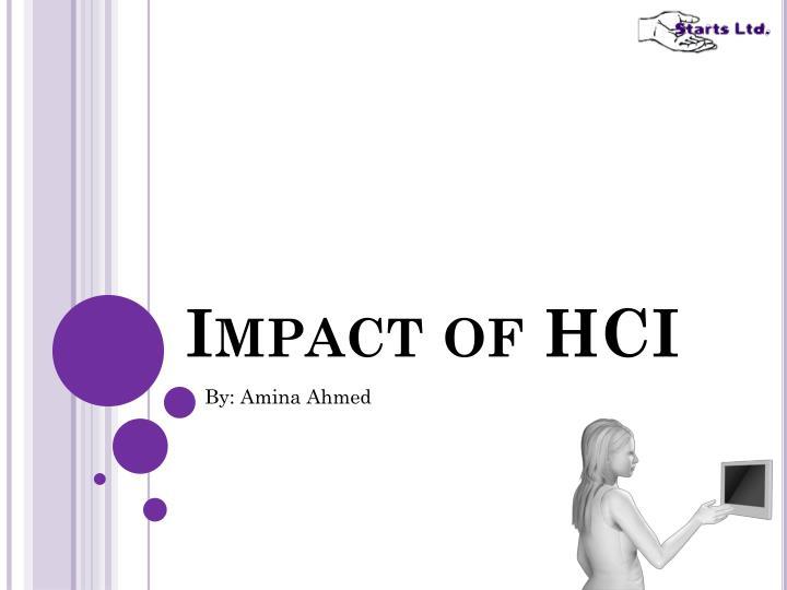 impact of hci n.