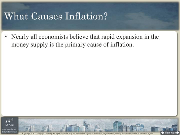 What Causes Inflation?