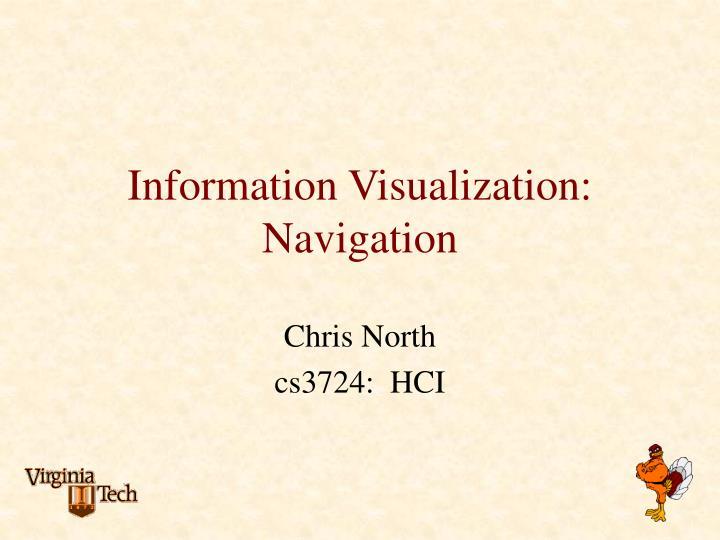 information visualization navigation n.