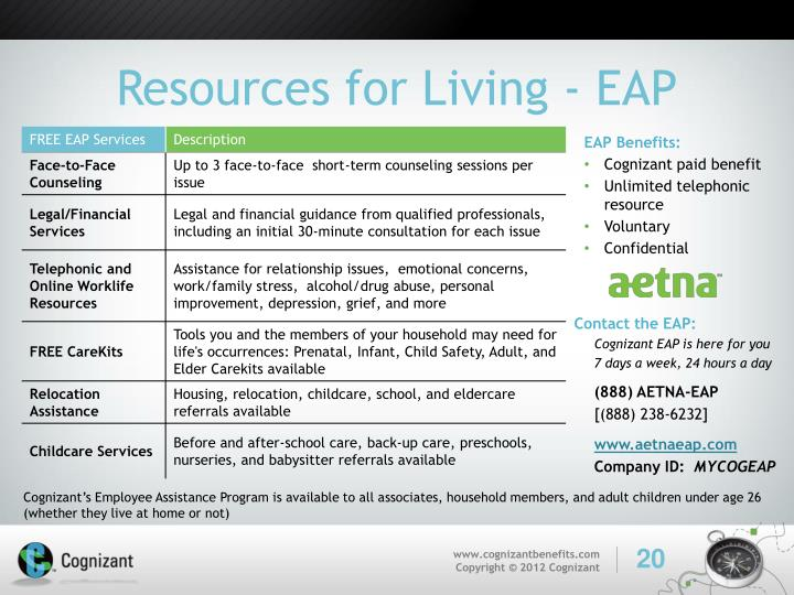 Resources for Living - EAP