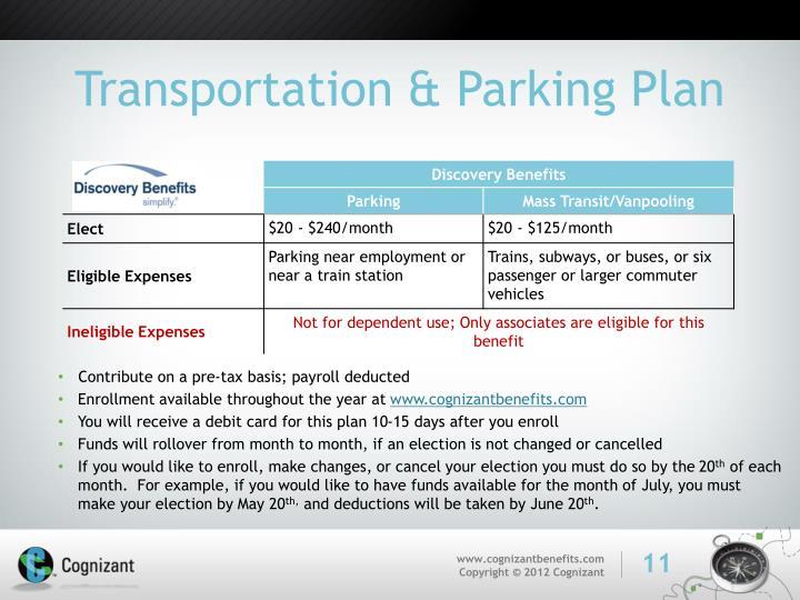 Transportation & Parking Plan
