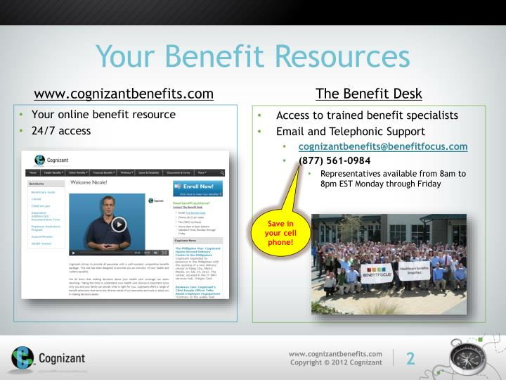 Your benefit resources