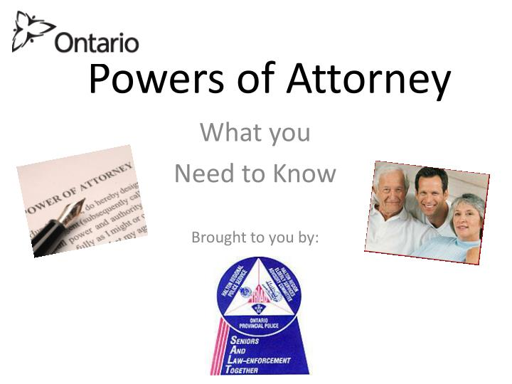 powers of attorney n.