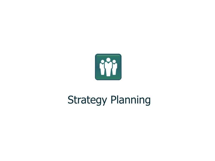 Strategy Planning