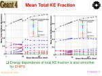 mean total ke fraction