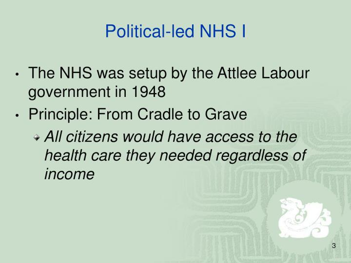 Political led nhs i