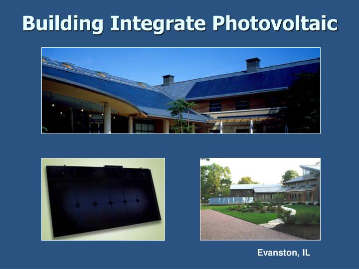 Building Integrate Photovoltaic