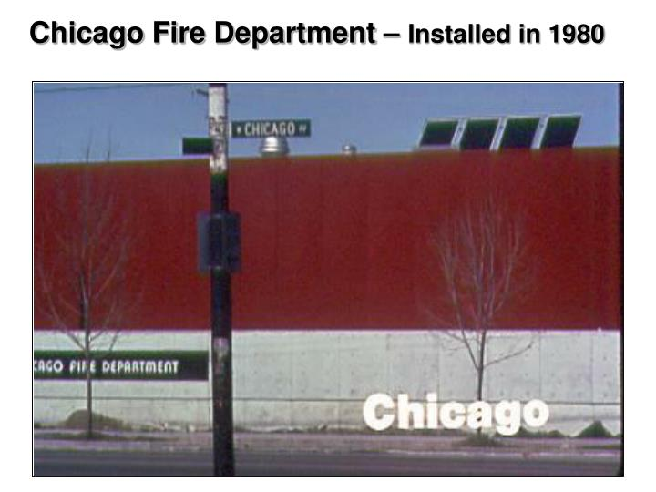 Chicago Fire Department –