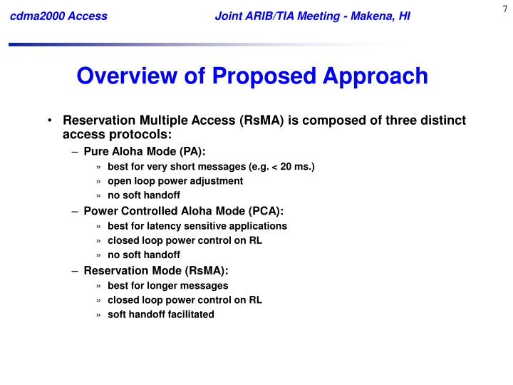 Overview of Proposed Approach