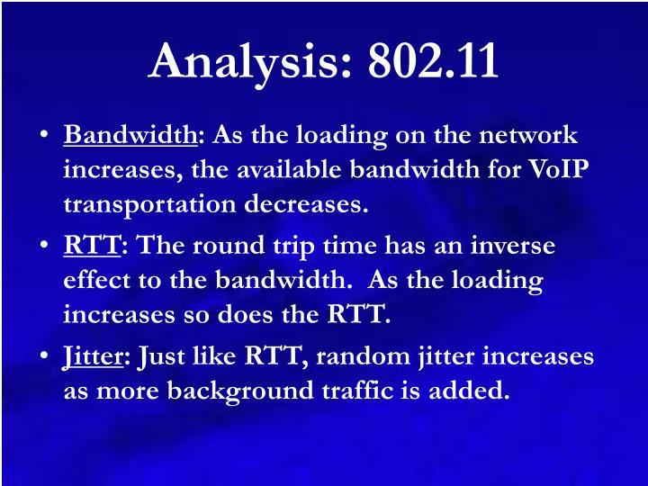 Analysis: 802.11