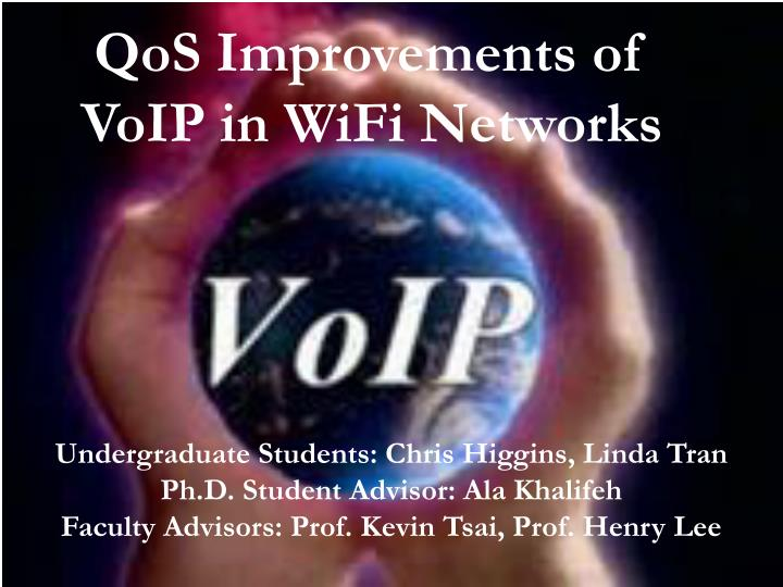 qos improvements of voip in wifi networks n.