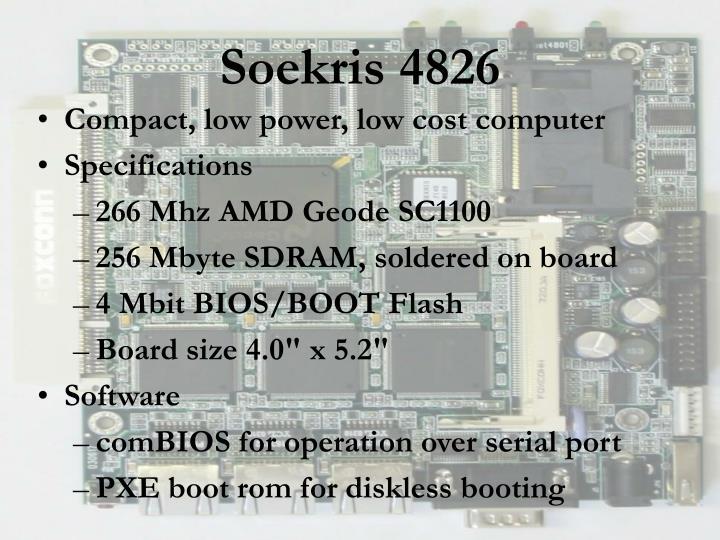 Soekris 4826