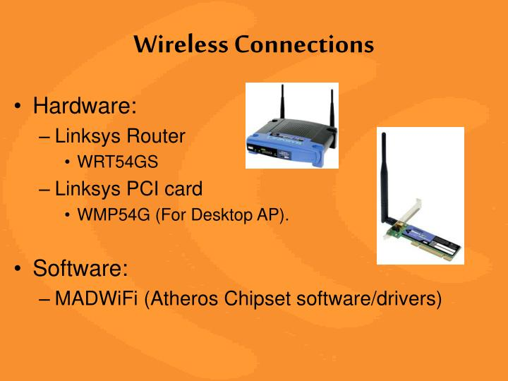 Wireless Connections