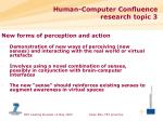 human computer confluence research topic 3
