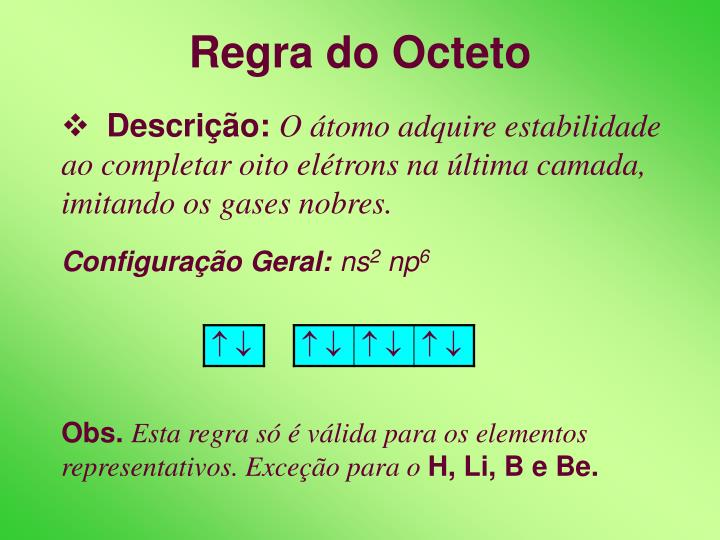 Regra do octeto