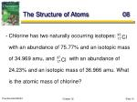 the structure of atoms 08