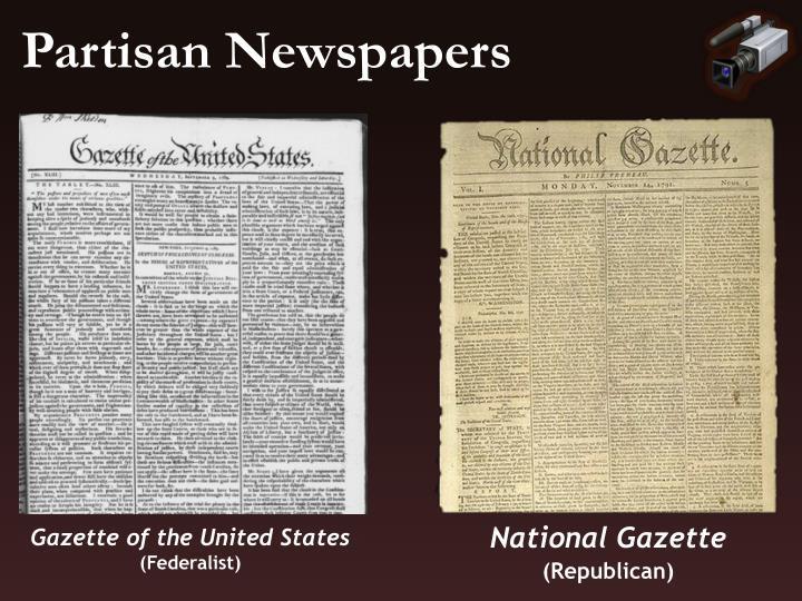 Partisan Newspapers