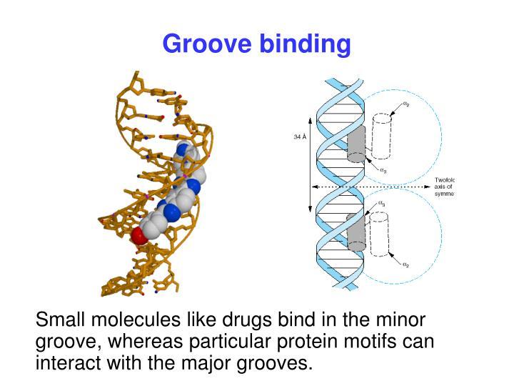 Groove binding