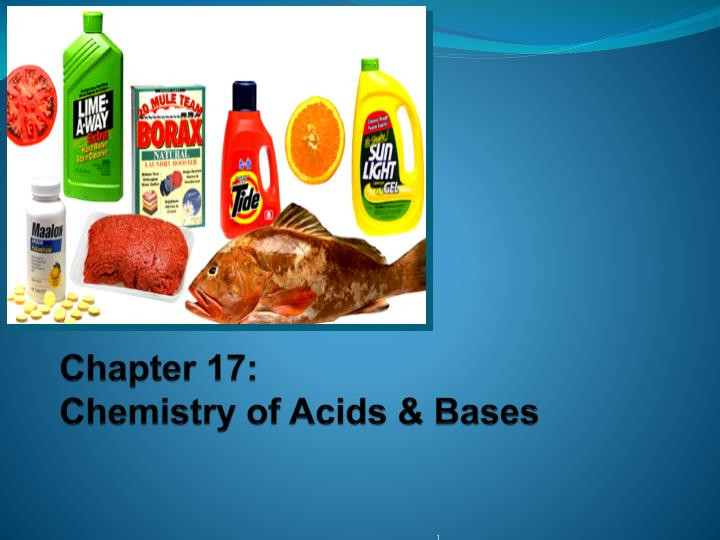 chapter 17 chemistry of acids bases n.
