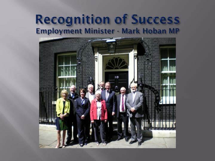 Recognition of Success
