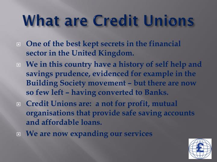 What are credit unions