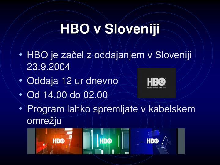 HBO v Sloveniji