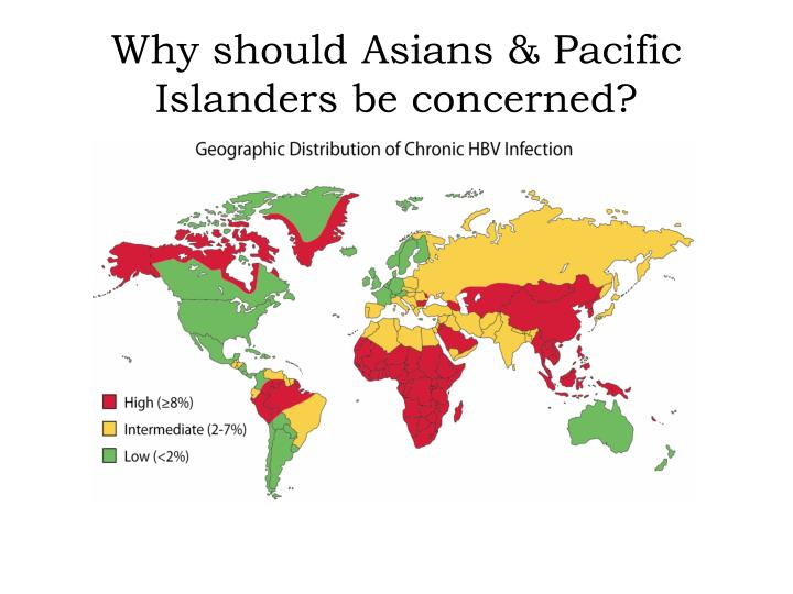 Why should Asians & Pacific Islanders be concerned?