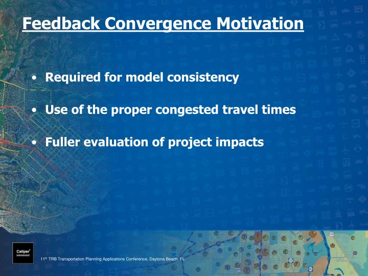 Feedback convergence motivation