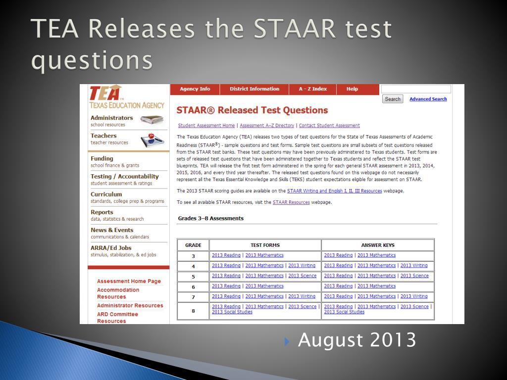 PPT - STAAR Update PowerPoint Presentation, free download ...