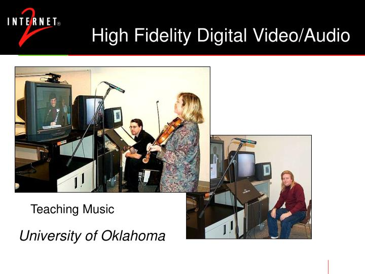 High Fidelity Digital Video/Audio