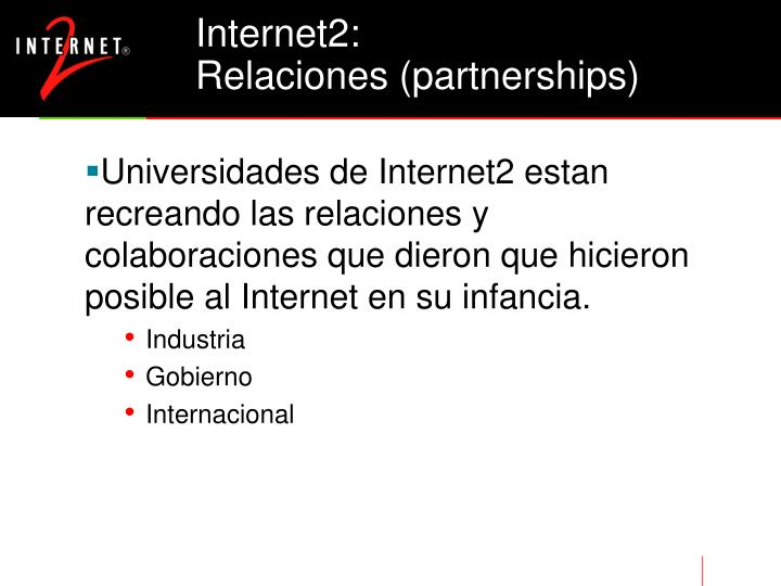 Internet2: