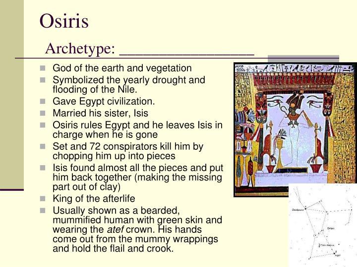 Osiris archetype
