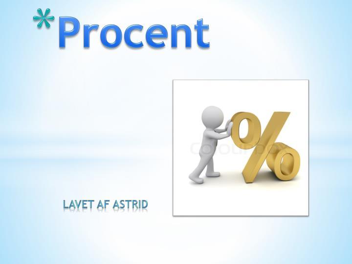 procent n.