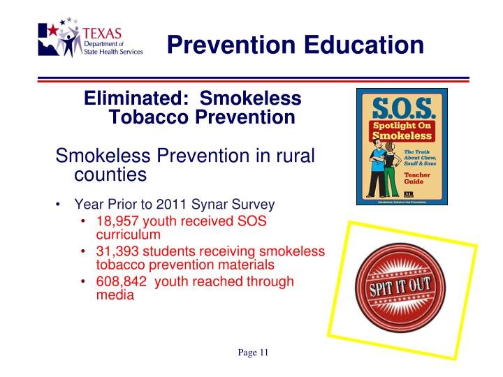 Prevention Education