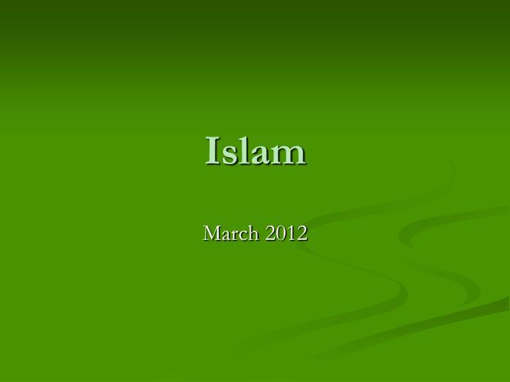 islam n.