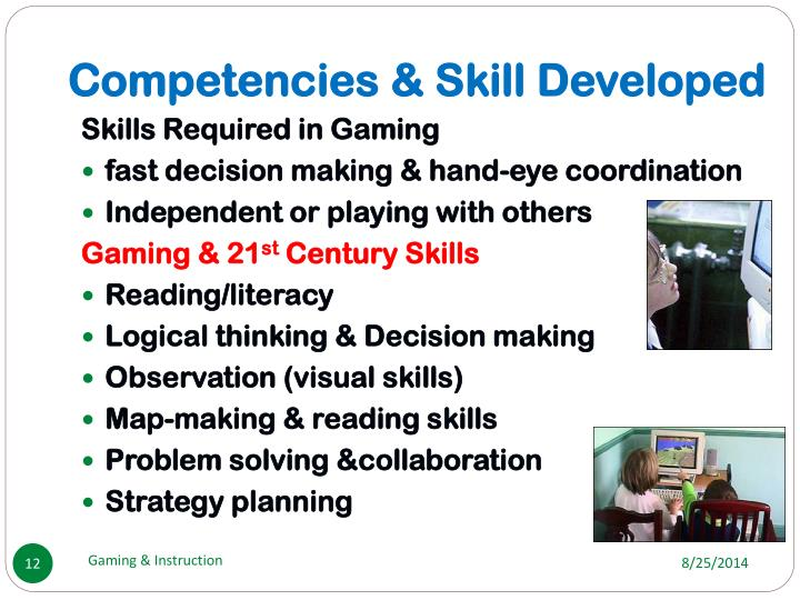 Competencies & Skill Developed