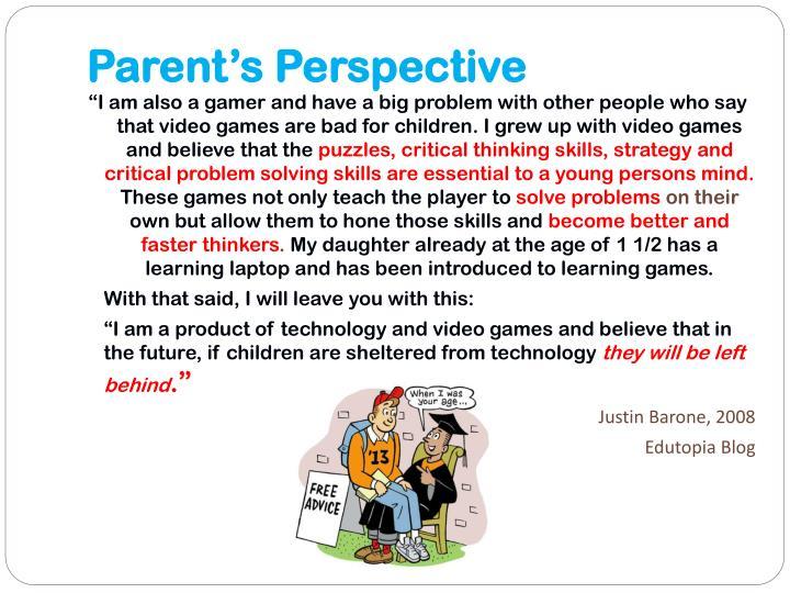 Parent's Perspective