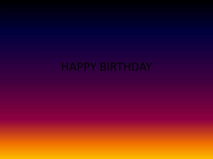 happy birthday n.