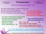 pi mnemonics