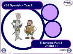 ks3 spanish year 8