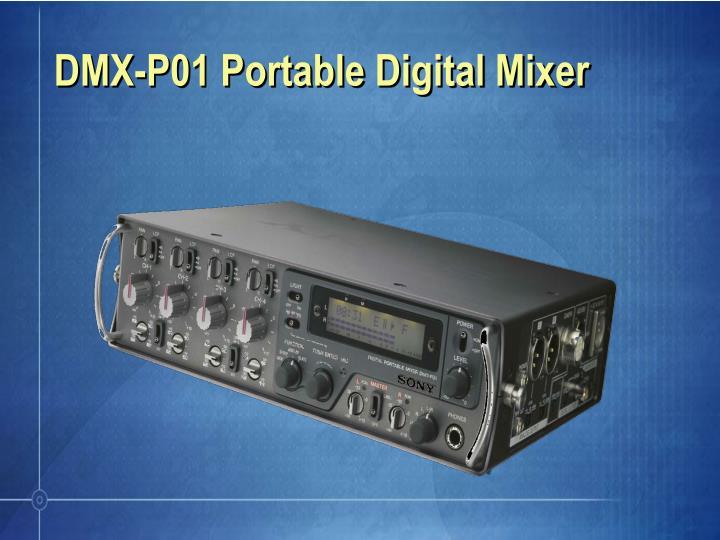 dmx p01 portable digital mixer n.