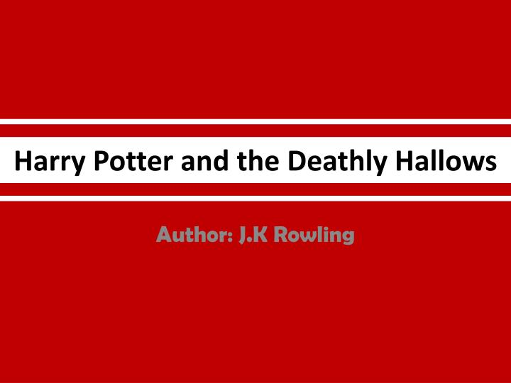 harry potter and the deathly hallows n.